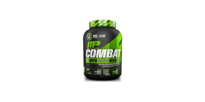 4 Pound- MusclePharm Combat Powder Advanced Time Release Protein Cookies 'N' Cream
