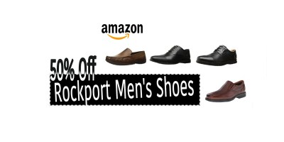 50% Off Rockport Men's Shoes