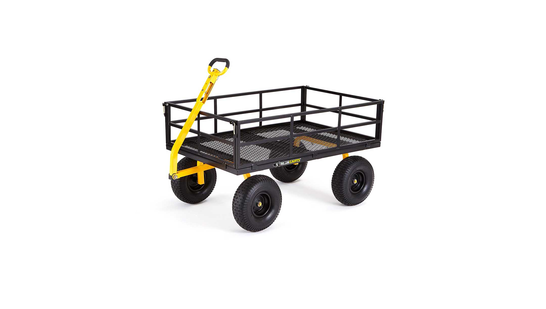Gorilla Carts Heavy Duty Steel Utility Cart with Removable