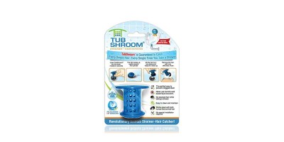 TubShroom The Revolutionary Tub Drain Protector Hair Catcher- Strainer-Snare
