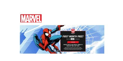 1-Month of Marvel Unlimited Digital Comic Subscription FREE