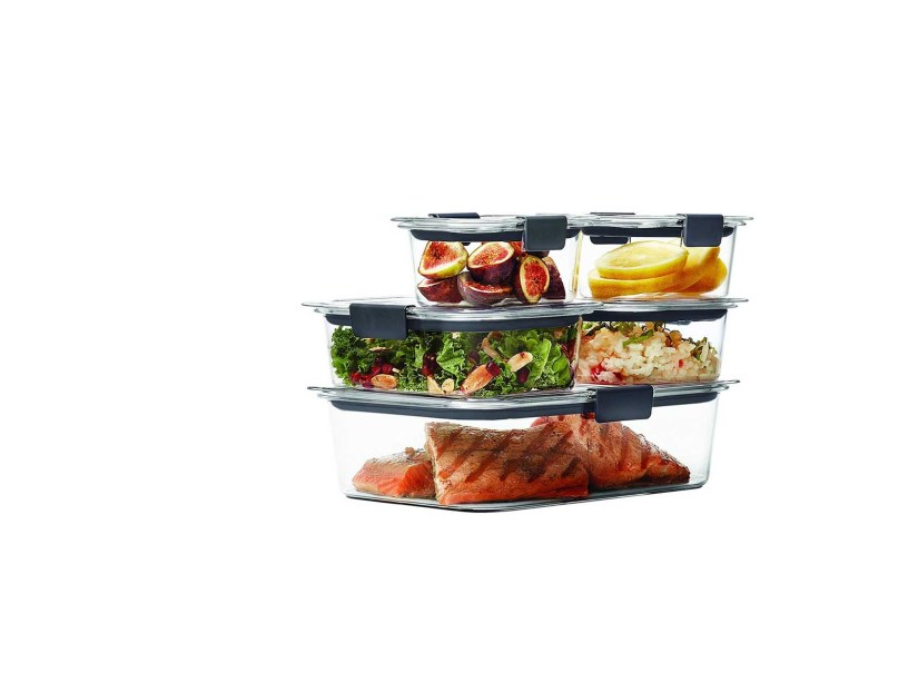 Rubbermaid Brilliance Food Storage Container Set 22 Piece Clear Adorable 60 Piece Rubbermaid Brilliance Food Storage Container For 6060 At