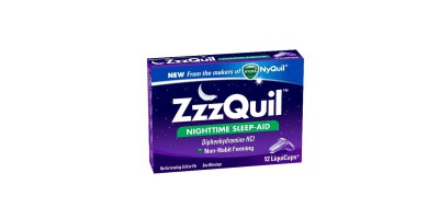 12 Count – ZzzQuil Nighttime Sleep-Aid LiquiCaps