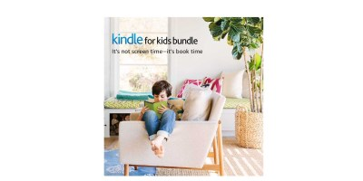 Kindle for Kids Bundle with the latest Kindle E-reader – 2-Year Worry-Free Guarantee (Blue Cover)