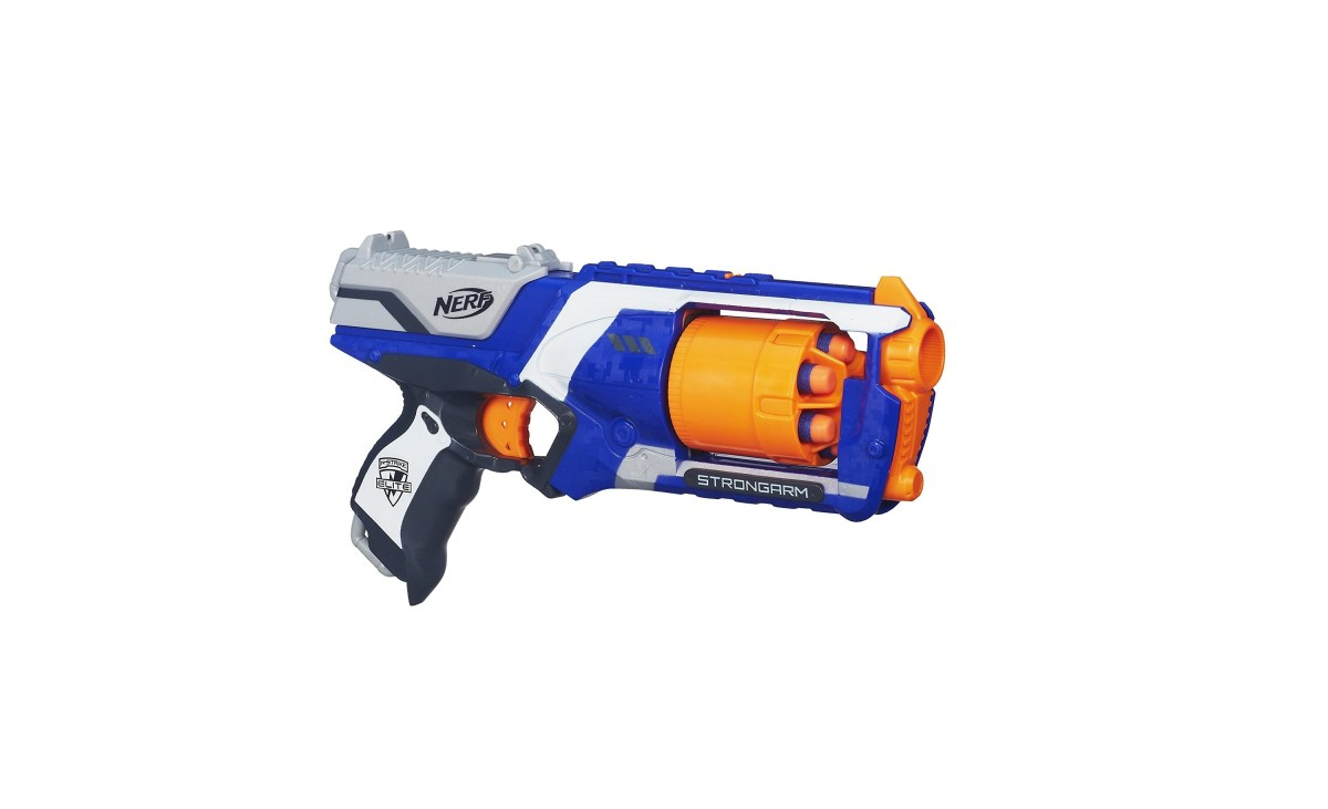 Nerf N-Strike Elite Strongarm Blaster for $9.99 at Amazon