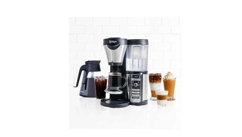 Ninja CF080 Coffee Bar Auto-iQ Brewer with Glass Carafe (Refurbished)