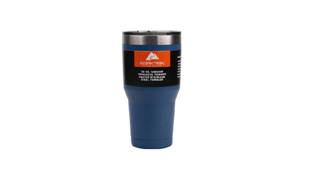 Ozark Trail 30-Ounce Double-Wall Vacuum-Sealed Tumbler for $5 at Walmart