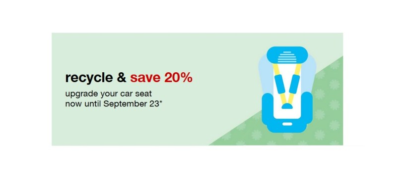 FREE 20 Off Target Coupon For Car Seat Trade In Program