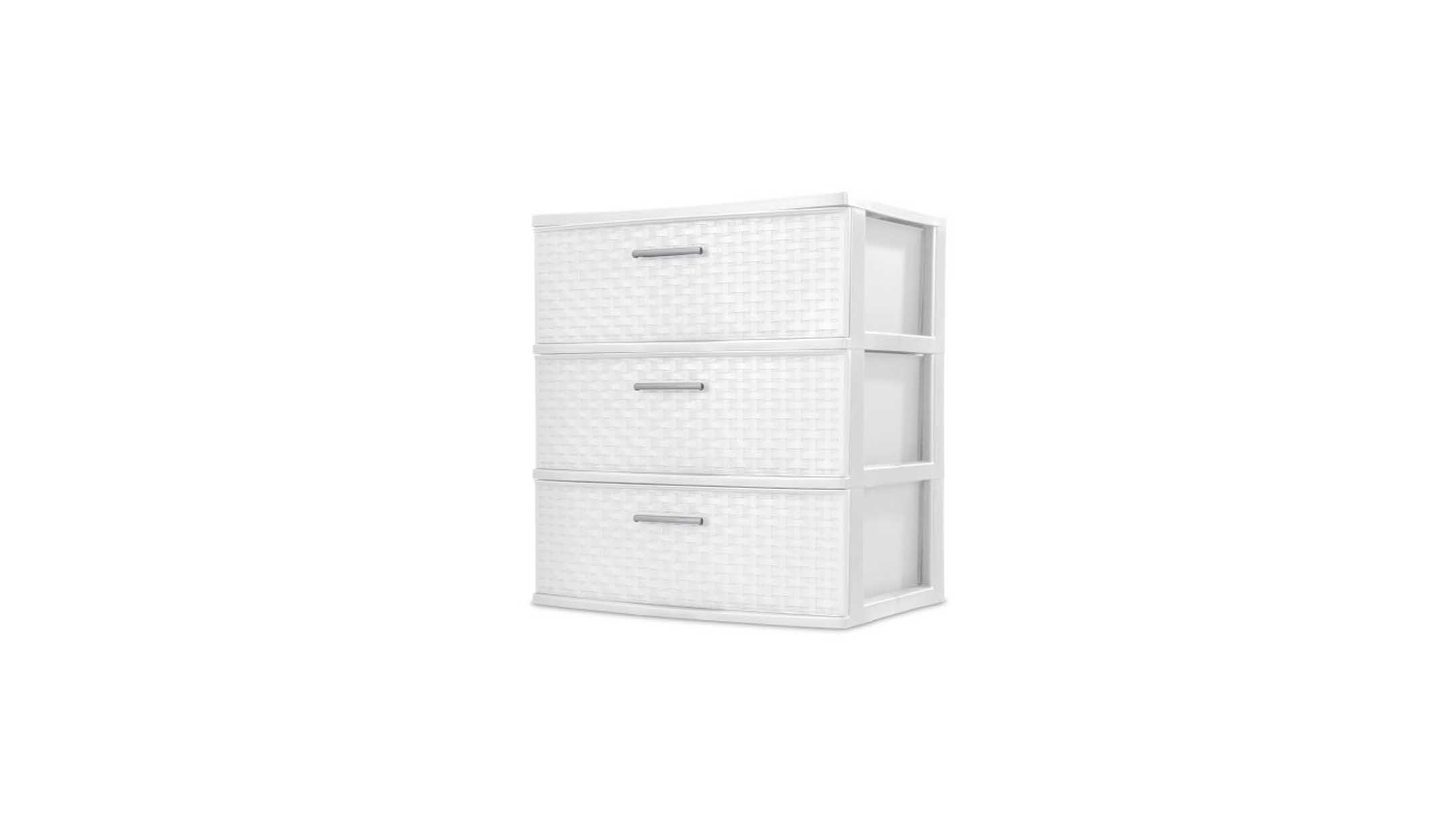 Sterilite 3 Drawer Wide Weave Tower for $15.78 at Walmart  sc 1 st  The Best Deals Club & Sterilite 3 Drawer Wide Weave Tower for $19.97 at Walmart u2013 The Best ...