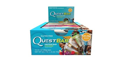 12 Flavors Quest Nutrition Protein Bar – Best Seller Variety Pack  20-21g Protein, 4-7g Net Carbs  (2