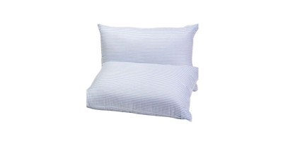 2 Set Mainstays HUGE Pillow (20×28) in Blue and White Stripe