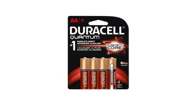 4 Pack Duracell – Quantum AA Batteries