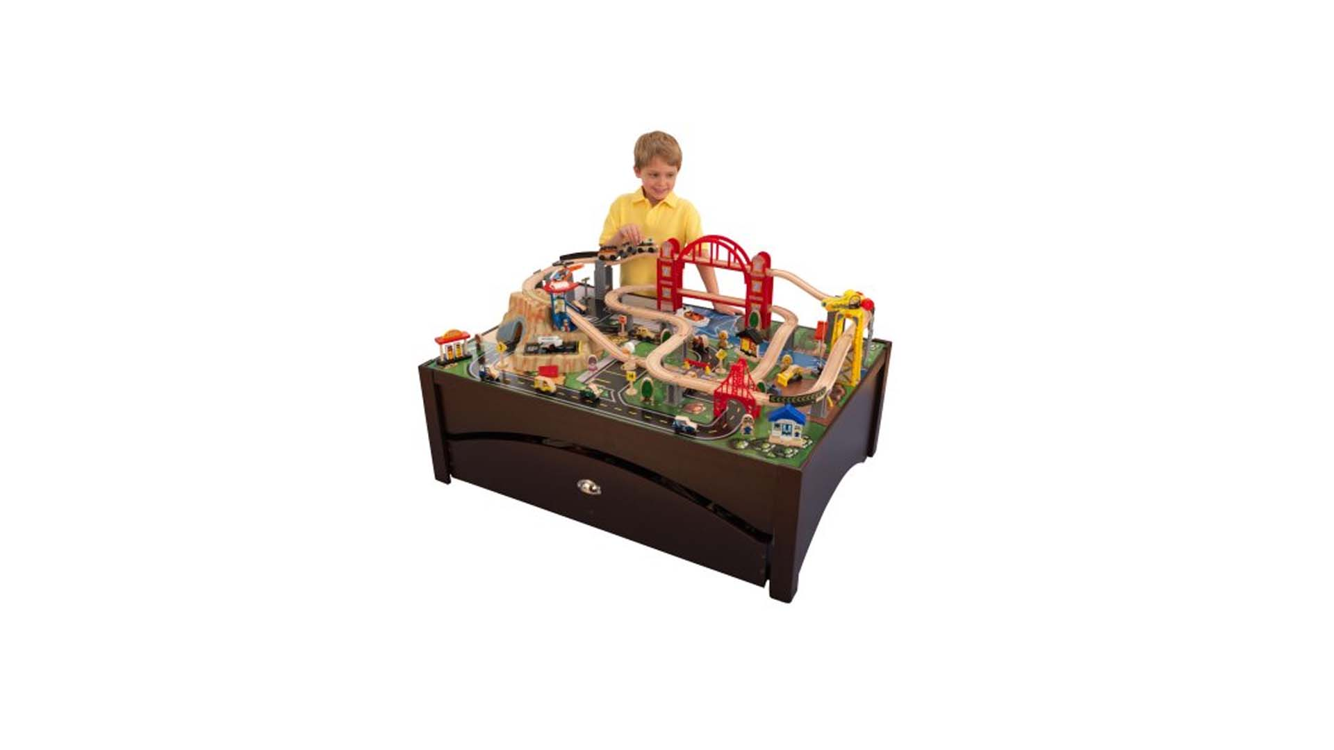 KidKraft Metropolis Train Set U0026 Table For $109.97 At Walmart