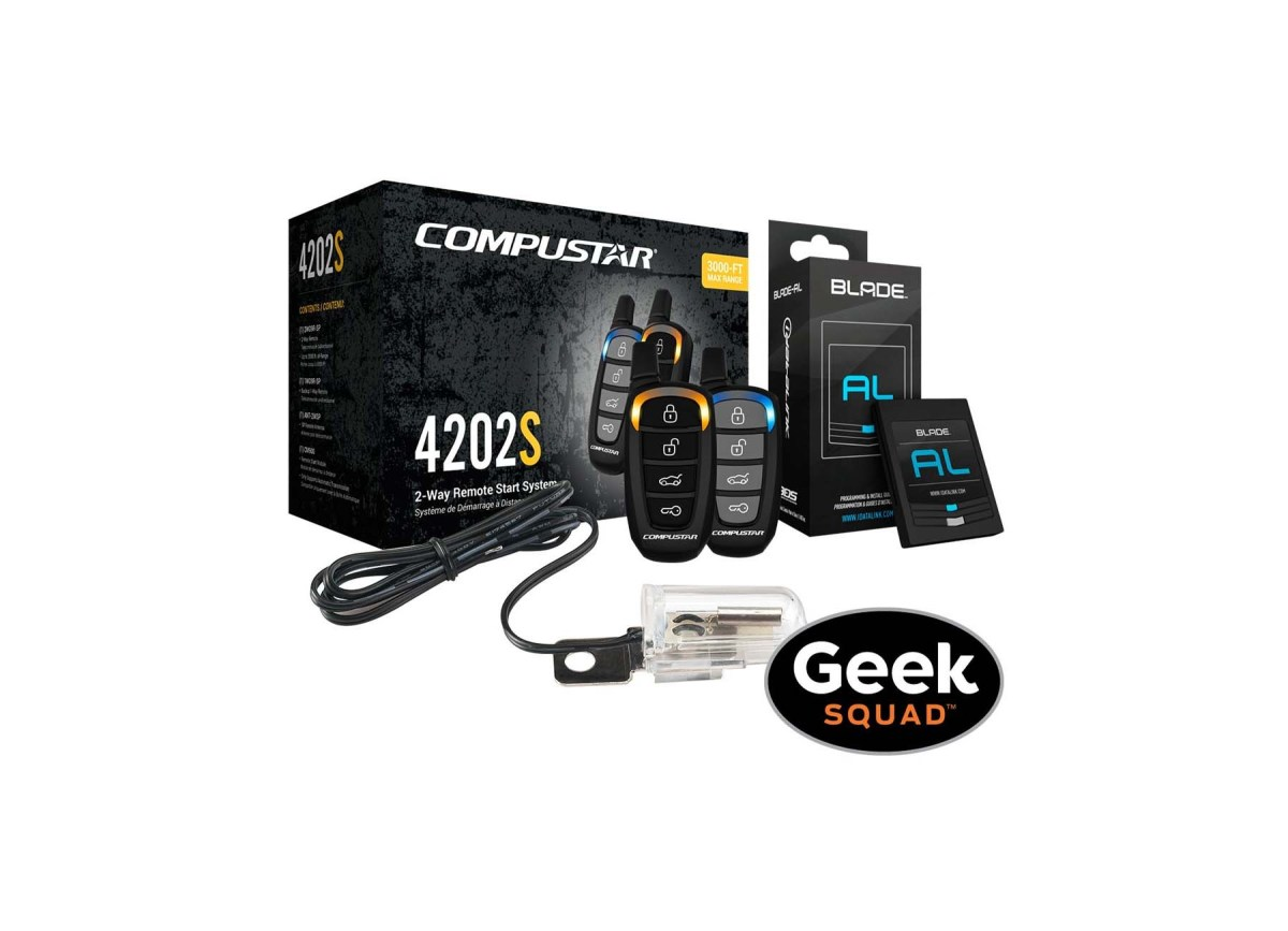 Compustar CS4202-S-KIT 2-Way Remote Start System for $269.99 at Best Buy