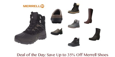 Merrell Men's Moab Polar Waterproof Winter Boot