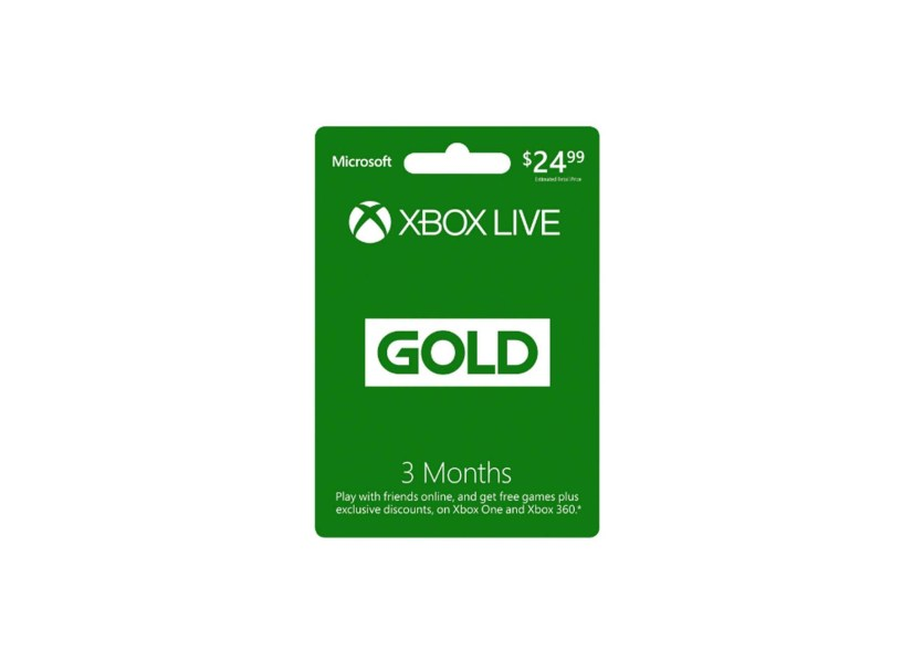 6 Month Xbox Live Gold Membership Digital Code for $14.99 at Amazon