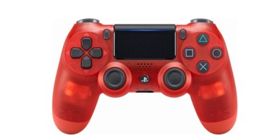 Sony – DualShock 4 Wireless Controller for PlayStation 4 – Red Crystal