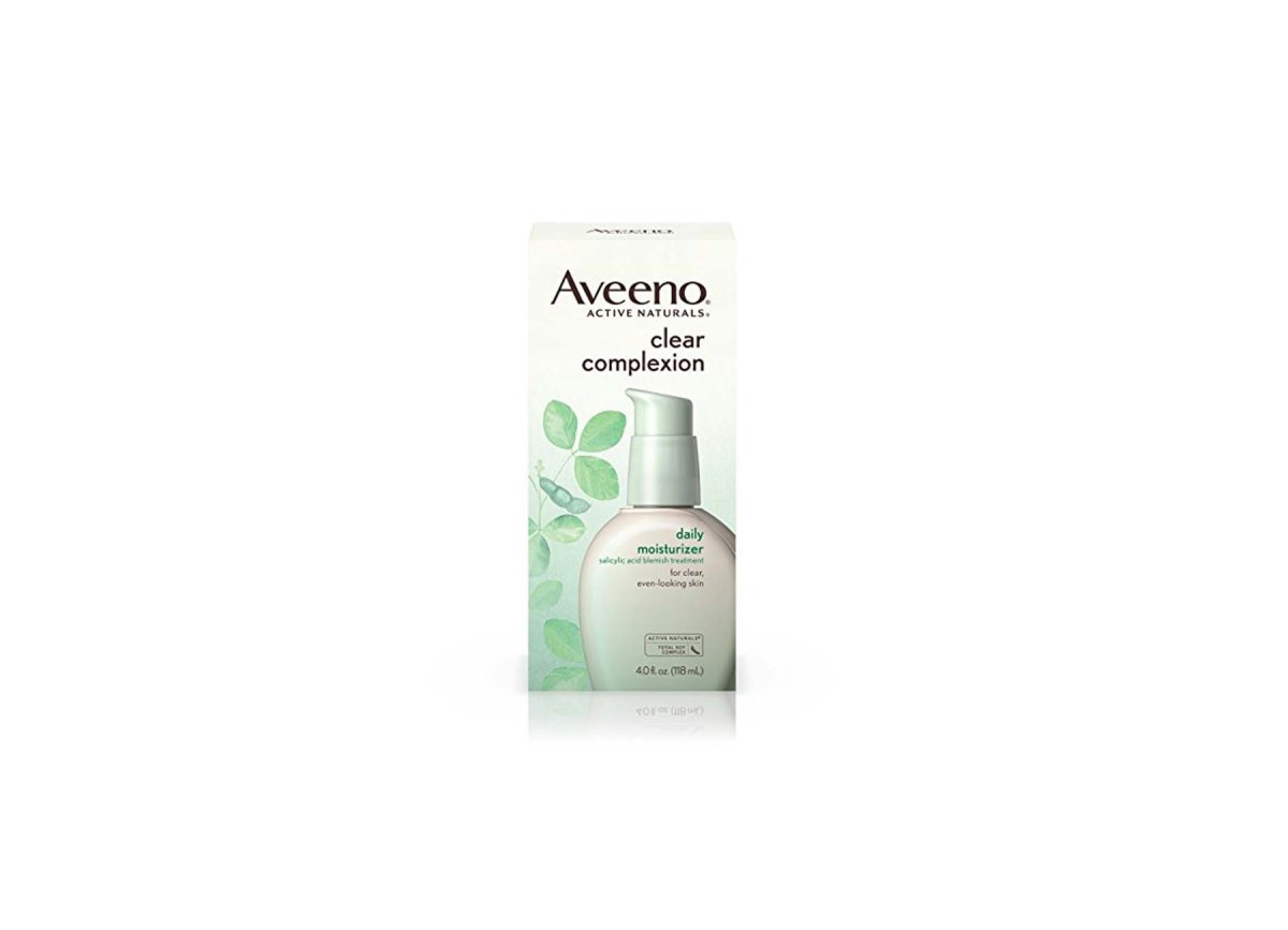 Aveeno Clear Complexion Blemish Treatment Daily Moisturizer for $9.63 at Amazon