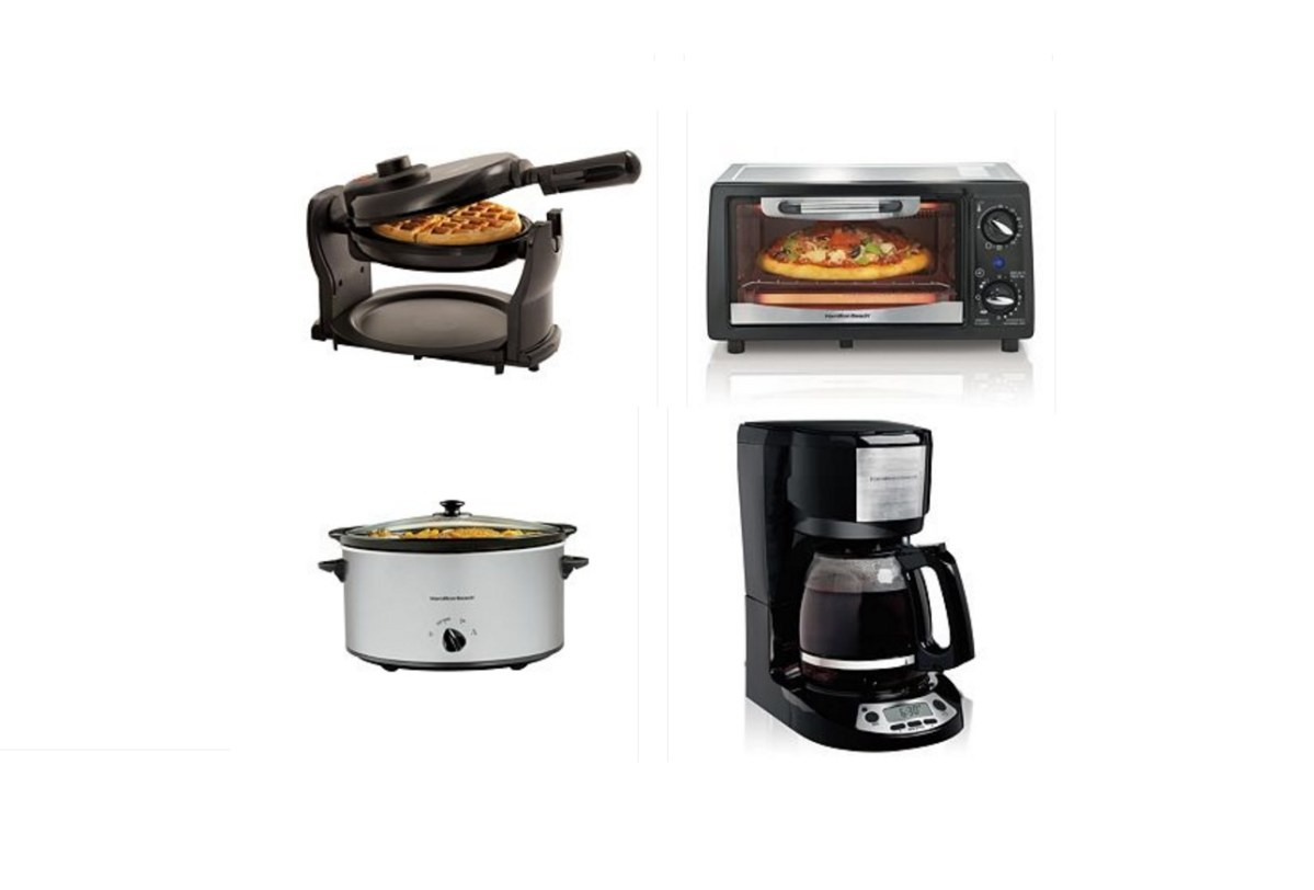 Select 3 Small Kitchen Appliances for $6.40 after Rebate + $10 Kohls Cash for $50 Purchase from Kohls