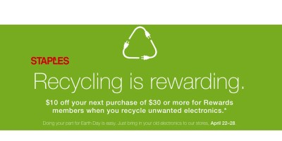 Reward- Recycle Electronics In-Store, Get Coupon