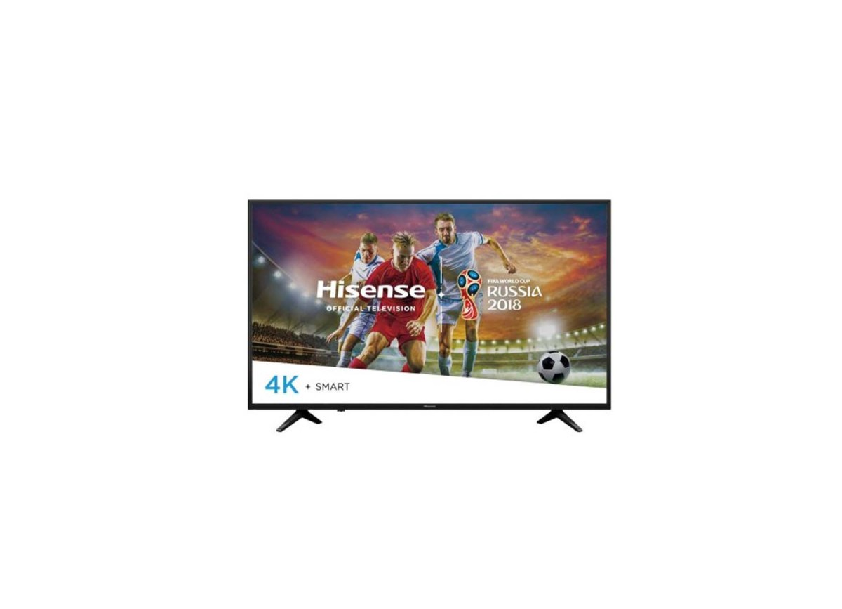 "Hisense 49"" class 4K (2160p) HDR Smart LED TV (49H6E) for $219.99 at Walmart"