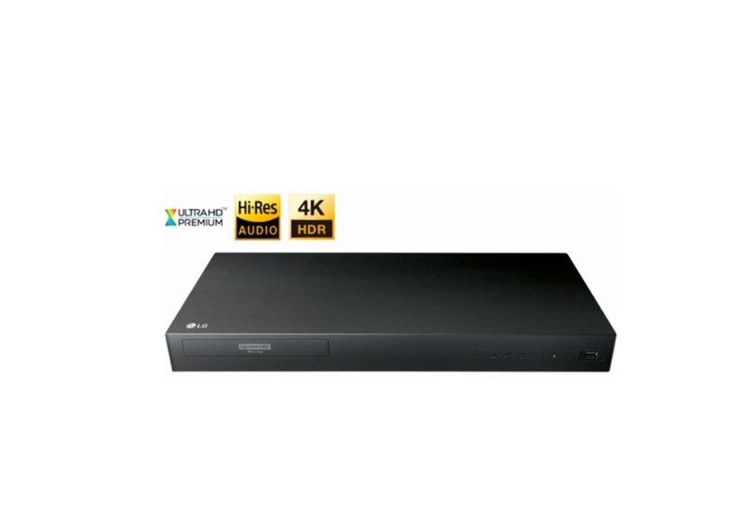 LG UP875 4K Ultra HD 3D Blu-ray Player for $79 99 at Best