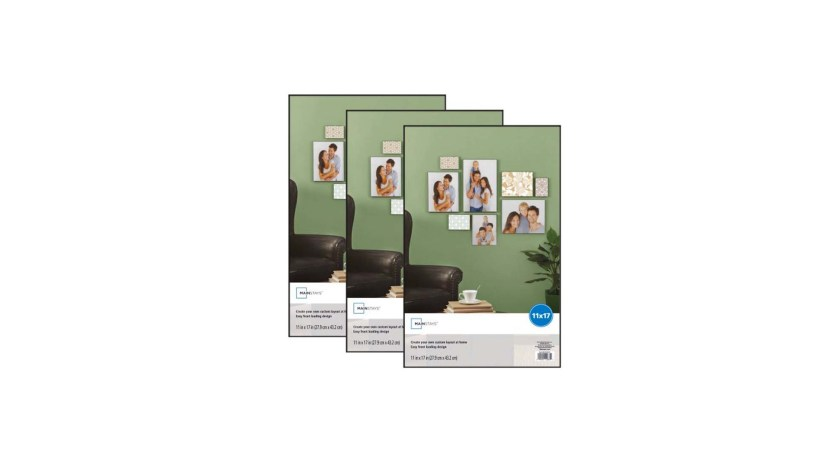 Set of 3 Mainstays 11×17 Format Picture Frame for $8.34 at Walmart ...