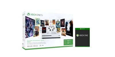 Xbox One S Consoles – Starter Bundle + Free Select Game of Choice