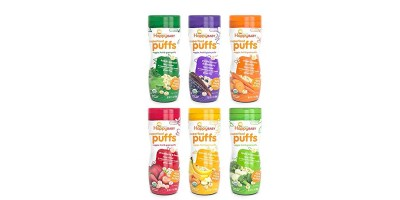 6 Pack 2.1 Ounce Happy Baby Organic Superfood Puffs