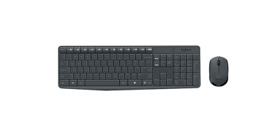 Logitech MK235 USB Wireless Optical Keyboard and Mouse Set