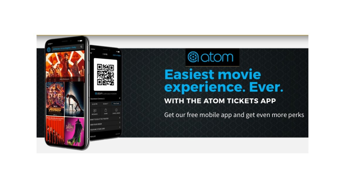 FREE The Spy Who Dumped Me Movie Ticket at Atom Tickets Mobile App (New & Existing Members)