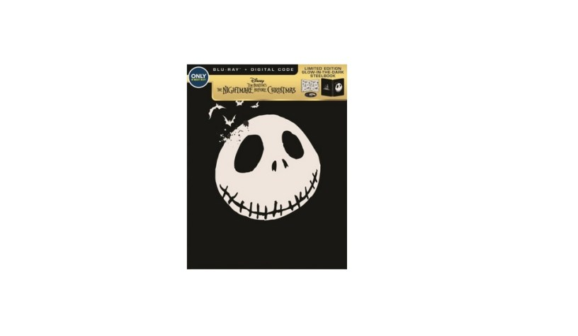 the nightmare before christmas steelbook anniv edition blu ray for 1299 at best buy - Best Buy Christmas Return Policy