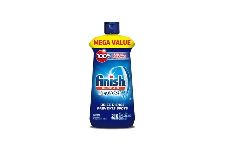 23oz Finish Jet-Dry Dishwasher Rinse Agent & Drying Agent for $7.07 at Amazon