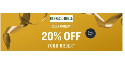 Cyber Monday Barnes & Noble