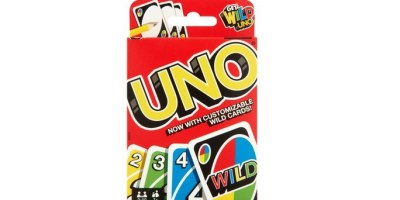 UNO Color & Number Matching Card Game