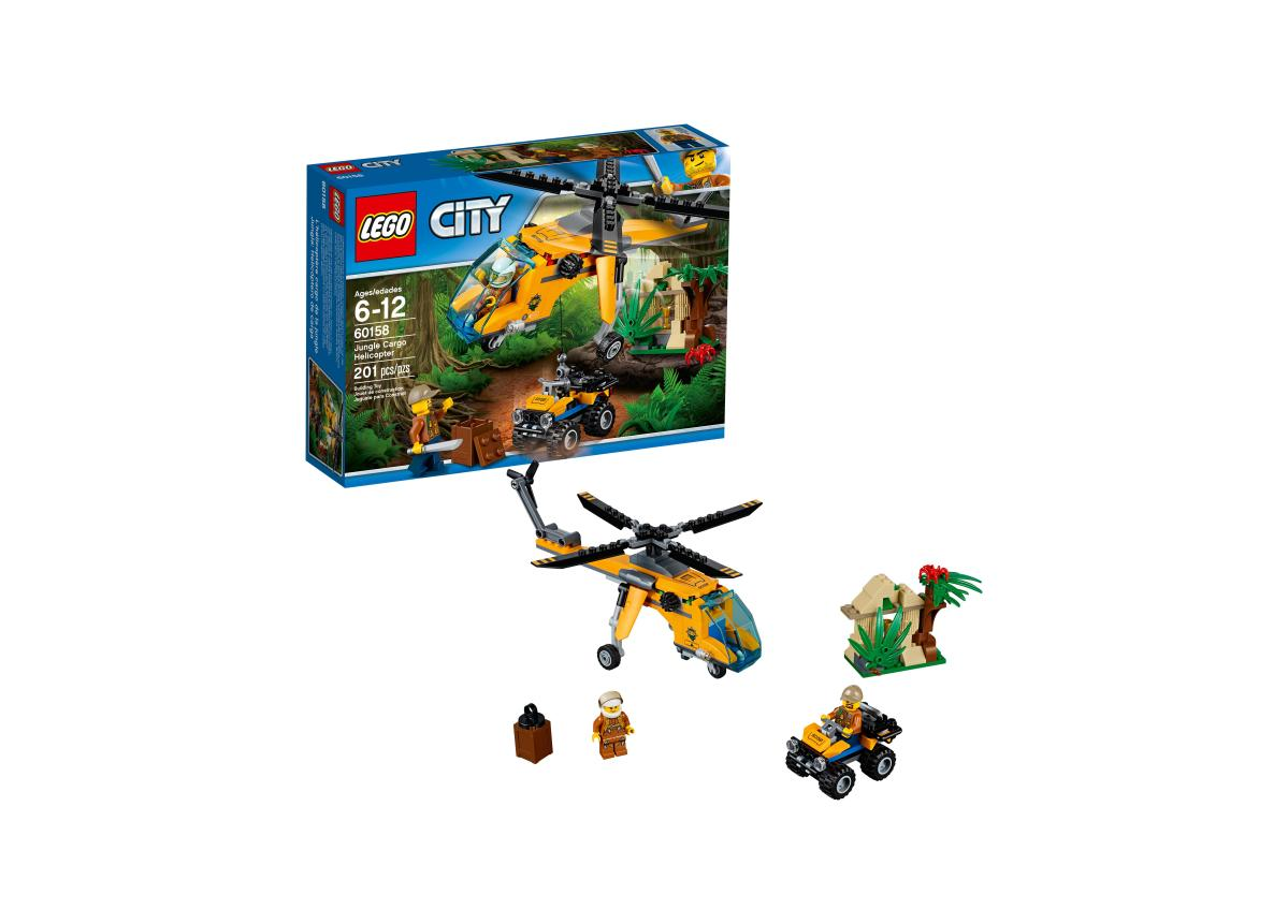 LEGO City Jungle Explorers Jungle Cargo Helicopter 60158 for $10.99 at Walmart