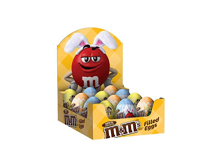 M&M'S Easter Milk Chocolate Candy in Easter Eggs 0.93-Ounce Egg 12-Count Box for $11 or less at Amazon with Subscribe & Save