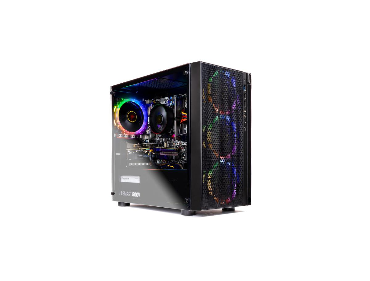 SkyTech Blaze - Gaming Computer PC Desktop  Ryzen 5 2600 6-Core 3.4 GHz, NVIDIA GeForce GTX 1660 Ti 6GB, 500G SSD, 8GB DDR4, AC WiFi, Windows 10 Home 64-bit for $759.99 at Walmart