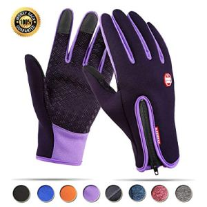 Achiou Touch Screen Gloves for Winter Warm iPhone iPad Bicycling Cycl...