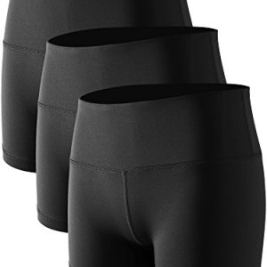 Cadmus Women's Stretch Fitness Running Shorts with Pocket,3 Pack,05,B...