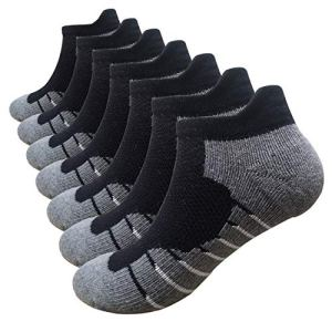Men's Low Cut Running Sock Cotton 3/7 Pack Performance Comfort No Sho...