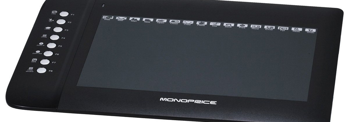 Affordable Graphics Tablet:  Monoprice 10 X 6.25 Graphic Drawing Tablet
