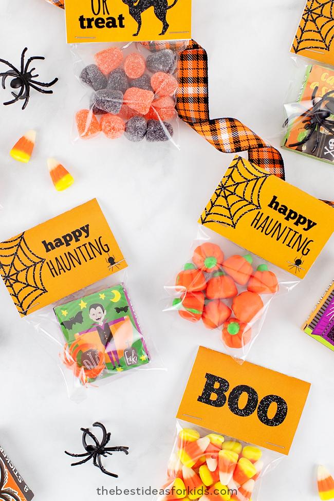 Halloween Treat Tag Printables