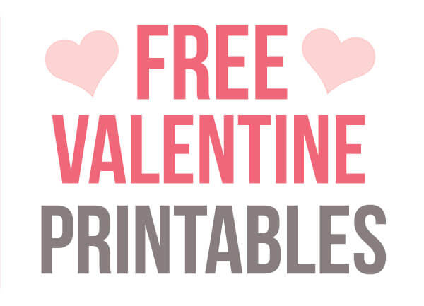 Free Printable Valentine Cards - The Best Ideas for Kids
