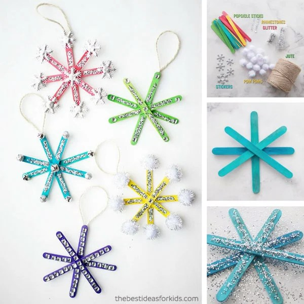 christmas ornaments popsicle sticks # 34
