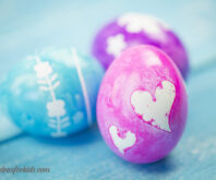 Easter Egg Silhouettes Craft