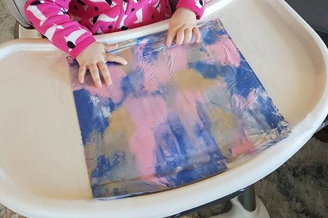Mess Free Painting for Toddlers and Babies