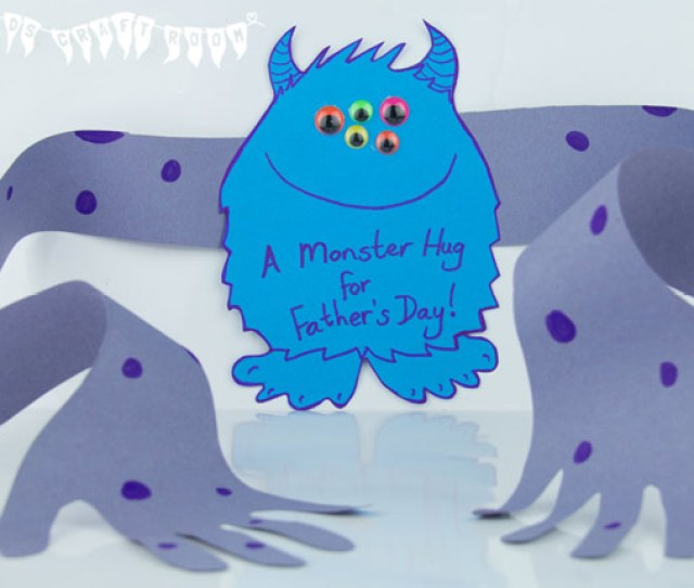 Monster Hug For Fathers Day