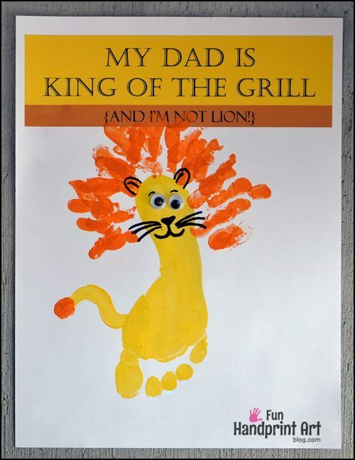 My Dad is King of the Lion Craft