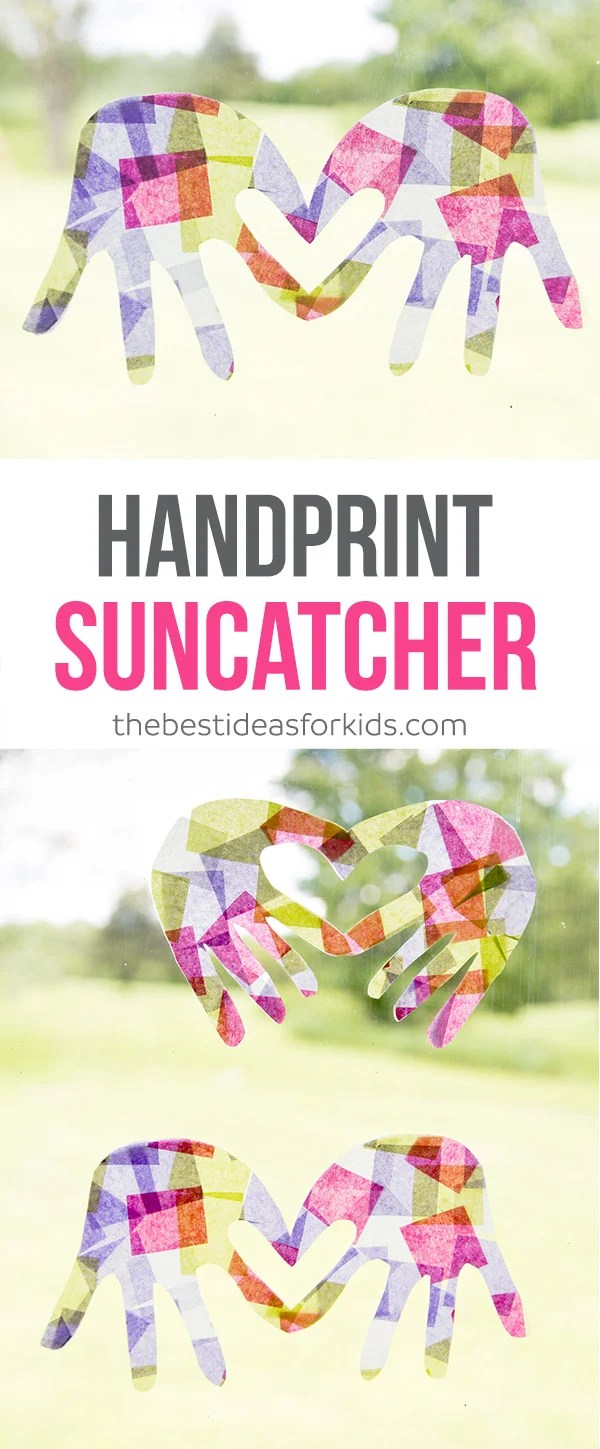 Handprint Suncatcher Craft
